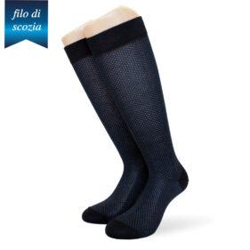 6 paia di calze lunghe uomo micropois filo di scozia mod. ghedi classico – spedizione gratuita