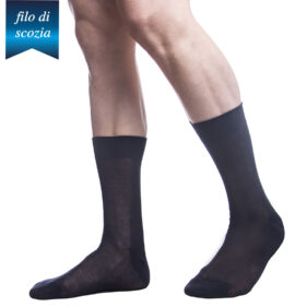 6 paia di calze corte uomo in cotone filo di scozia mod. poker – spedizione gratuita