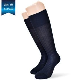 6 paia di calze lunghe uomo sanitarie in cotone filo di scozia mod. sanitario 4/2 – spedizione gratuita