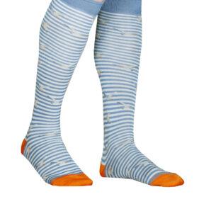 3 paia di calze lunghe uomo alv by alviero martini in cotone filo di scozia disegno gabbiani mod. alv4095 – spedizione gratuita