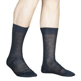 3 paia di calze corte uomo alv by alviero martini in cotone filo di scozia disegno links mod. alv9024 – spedizione gratuita