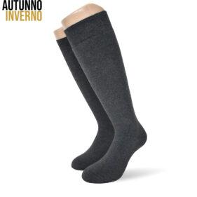 6 paia di calze lunghe uomo spugna in morbido cotone mod. bros antolini- spedizione gratuita